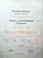 Startseite Meisterbrief
