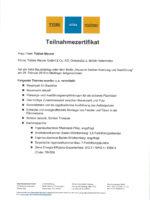 Startseite Zertifikat Xella Bauleitertag