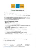 Startseite Zertifikat Xella Baupraktikertag
